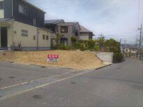 京田辺市大住平谷の売土地(現在更地)