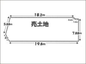 伏見区深草大亀谷東寺町の売土地(藤森駅まで徒歩7分)