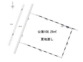 伏見区深草大亀谷西寺町の売土地(JR藤森駅まで徒歩7分)