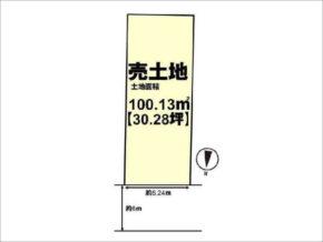 長岡京市こがねが丘の売土地(西山天王山駅までバス乗車8分)