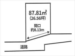 四條畷市岡山の売土地(忍ケ丘駅まで徒歩6分)