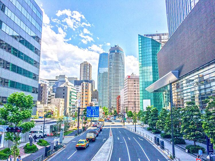 都市風景 虎ノ門のマンション