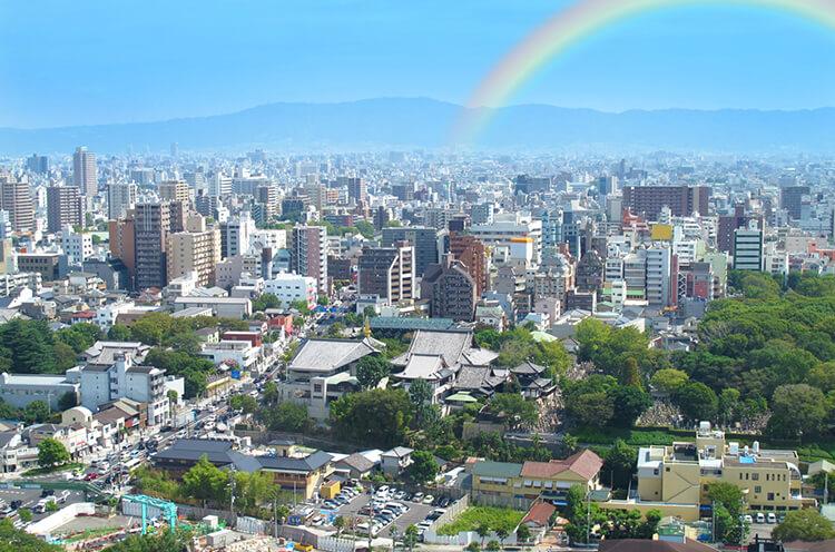 大阪府の景色