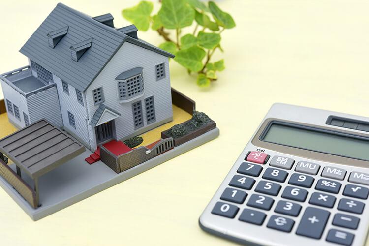 注文住宅と電卓