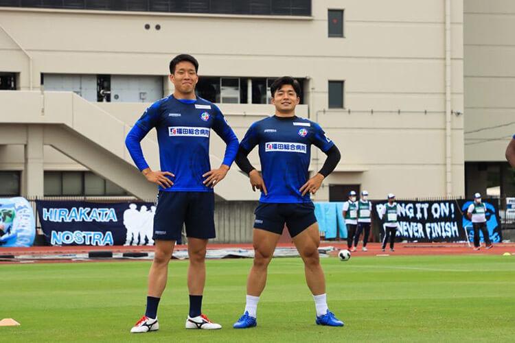 新井晴樹と武田航太朗選手