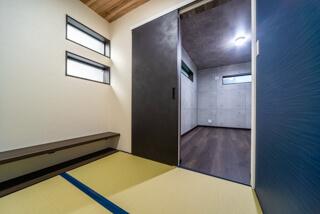 和室の書斎(大阪府枚方市の注文住宅)