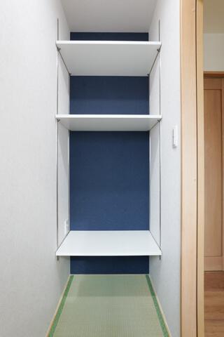 コンパクトな和室の書斎