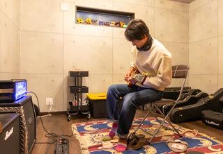ギターを弾かれます。遮音性はどうですか?