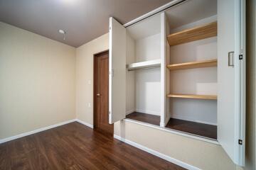 寝室の収納庫