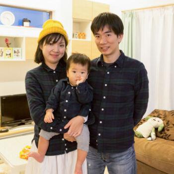 大阪府の注文住宅 K様のご家族