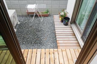 4.5帖の中庭スペース