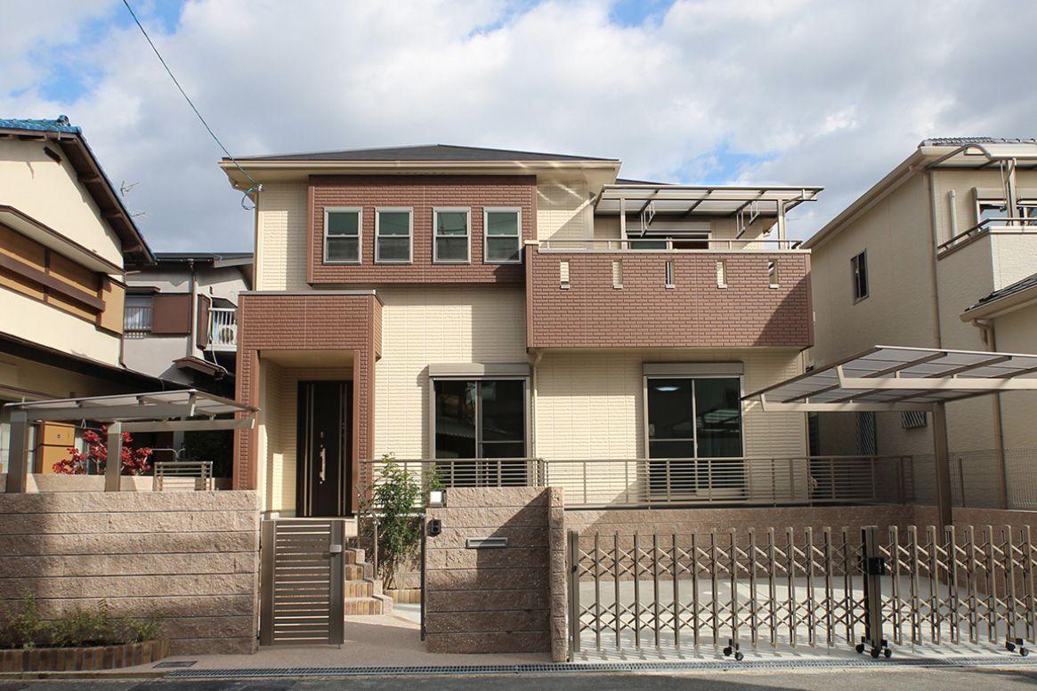 大阪T邸 – 和室と続く落ち着きのある広々リビングの家