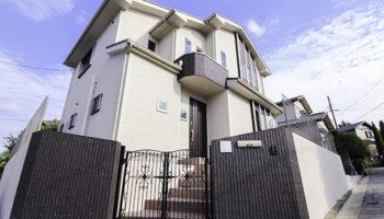 大阪の注文住宅(新築一戸建て)U様邸の外観