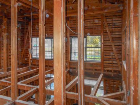 解体後の2階