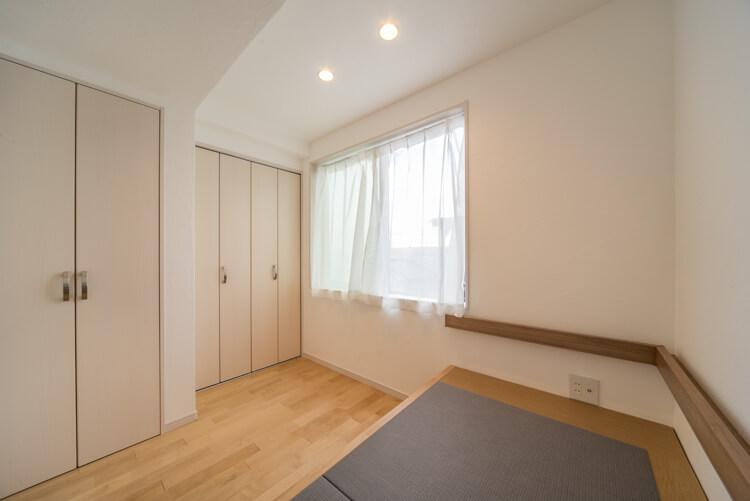 大阪K邸 – モノは全て収納内部 参考になる狭小住宅