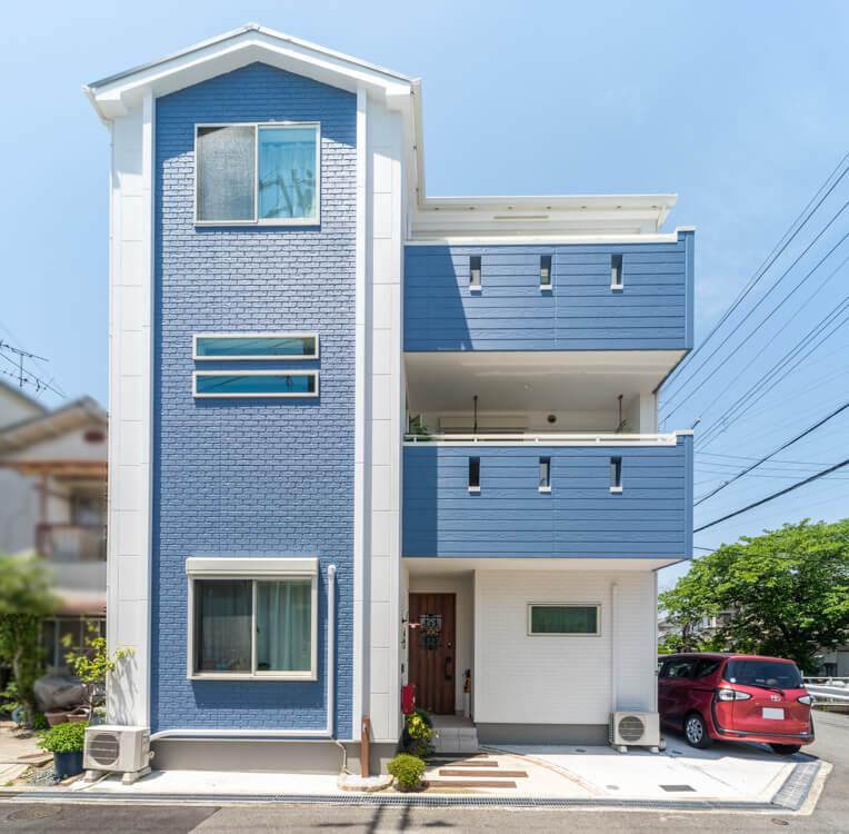 大阪S邸 – ペットドアを設けて家族もペットも過ごしやすい空間づくり