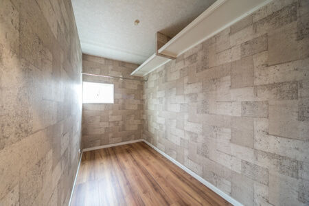 3階には納戸を設けて、たっぷり収納を確保