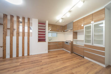 タカラスタンダードのL型キッチンでスペースを有効活用!