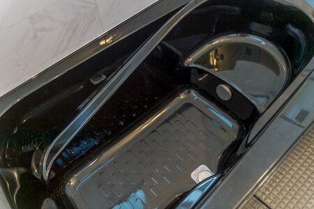 浴槽はクレリアパール浴槽のブラック