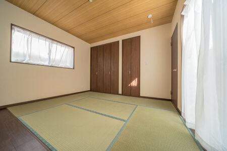 TVや家具が置ける和室の板間
