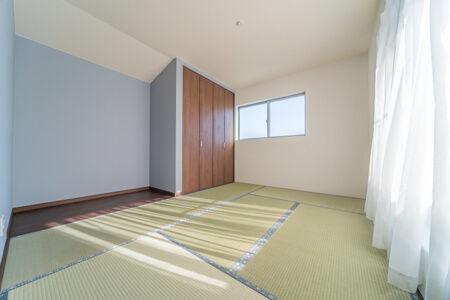 2階の主寝室は和室7帖