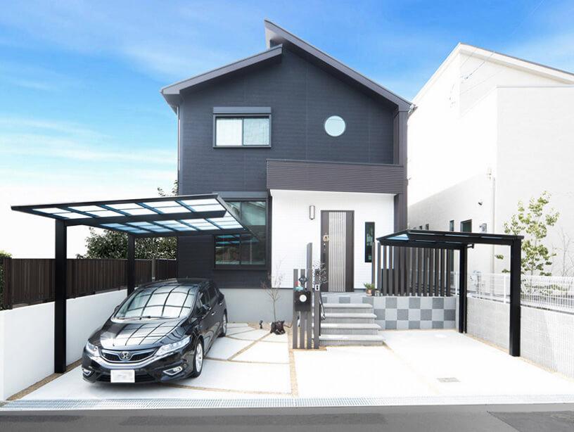 大阪M邸 – オシャレな吹き抜けリビングのある家
