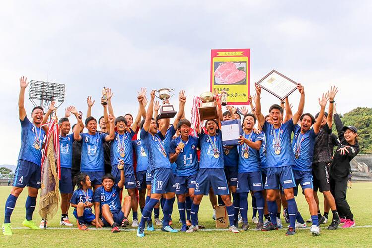 FCTIAMO枚方が第55回全国社会人サッカー選手権大会で優勝